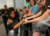 Nicole Polizzi arrives at the 2010 CMT Music Awards at the Bridgestone Arena on June 9th 2010 in Nashville Tennessee 5