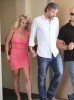 Britney Spears and Jason Trawick stopping off at a hotel on June 11th 2010 in Calabasas California 3