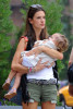 Alessandra Ambrosio seen on June 13th 2010 her daughter Anja 1