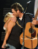 Blake Shelton and Miranda Lambert perform together during the 2010 CMA Music Festival on June 13th 2010 in Nashville Tennessee 8