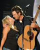 Blake Shelton and Miranda Lambert perform together during the 2010 CMA Music Festival on June 13th 2010 in Nashville Tennessee 7