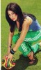 Haifa Wehbe football fan photo shoot 2