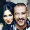 Mai Ezzideen and Mohamad Saad photo shoot for their latest Egyptian comedy movie 4