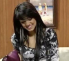 new pictures of Iraqi student Rahma Sibahi after the end of star academy 7th season during a recent TV interview 4