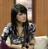 new pictures of Iraqi student Rahma Sibahi after the end of star academy 7th season during a recent TV interview 1