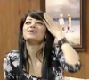 new pictures of Iraqi student Rahma Sibahi after the end of star academy 7th season during a recent TV interview 2