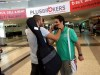 picture of star academy season 7 student Mohamad Ramadan from Jordan after leaving the academy with Abdul Aziz from Kuwait
