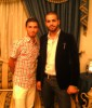 picture of star academy season 7 student Mohamad Ramadan from Jordan after leaving the academy with his friend at his house