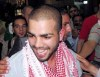 picture of star academy season 7 student Mohamad Ramadan from Jordan as he arrives to Queen Alia Airport in Amman after leaving the academy and going back to his home in Jordan 3