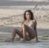 Alessandra Ambrosio spotted on March 7th 2010 at the beach during photo shoot in St Barthelemy 6