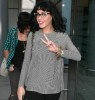 Katy Perry spotted on June 13th 2010 at Londons Heathrow International Airport 1