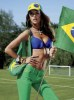 Alessandra Ambrosio Brazilian football fan photoshoot for the July 2010 issue of V Magazine 1