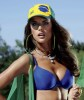 Alessandra Ambrosio Brazilian football fan photoshoot for the July 2010 issue of V Magazine 3