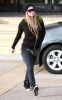 Avril Lavigne seen on December 13th 2009 while out shopping with a friend at Barneys New York 3