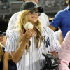Avril Lavigne seen on August 25th 2009 as she arrives at the Yankees game 2