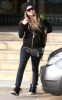 Avril Lavigne seen on December 13th 2009 while out shopping with a friend at Barneys New York 1