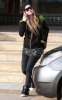Avril Lavigne seen on December 13th 2009 while out shopping with a friend at Barneys New York 2
