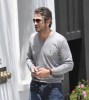Gerard Butler stops by Palihouse Holloway Hotel to watch a World Cup soccer match on June 18th 2010 in Hollywood 3