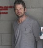 Gerard Butler stops by Palihouse Holloway Hotel to watch a World Cup soccer match on June 18th 2010 in Hollywood 2