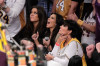 Kim Kardashian with Kris Jenner and Khloe Kardashian at Game Seven of the NBA playoff finals on Jun 17th 2010 in Los Angeles 5