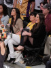 Kim Kardashian with Kris Jenner and Khloe Kardashian at Game Seven of the NBA playoff finals on Jun 17th 2010 in Los Angeles 1