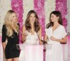 Miranda Kerr seen with Alessandra Ambrosio and Candice Swanepoel as they arrive at the launch of Bombshell The Fragrance on June 16th 2010 at the St Regis Hotel in New York 1