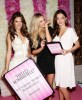 Miranda Kerr seen with Alessandra Ambrosio and Candice Swanepoel as they arrive at the launch of Bombshell The Fragrance on June 16th 2010 at the St Regis Hotel in New York 4