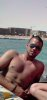 Mohamed Ramadan topless picture at the beach