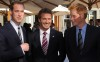 Prince William and Prince Harry seen with David Beckham on June 19th 2010 at a FIFA reception held at the Saxon Hotel in Johannesberg South Africa 5