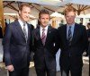Prince William and Prince Harry seen with David Beckham on June 19th 2010 at a FIFA reception held at the Saxon Hotel in Johannesberg South Africa 1