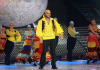 prime 9 of Star Academy on april 16th 2010 picture of Mohamad Ramadan from Jordan 5