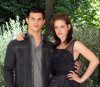 Taylor Lautner and Kristen Stewart attend the The Twilight Saga Eclipse photo call at the Hotel Russie on June 17th 2010 in Rome Italy 2