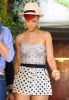 Rihanna seen arriving for the Opening Ceremony boutique on July 14th 2010 in Los Angeles 1