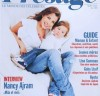 Nancy Ajram photo with her daughter Mila on the cover of a magazine of September 2010