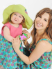 Nancy Ajram photo with her daughter Mila in a September 2010 magazine interview