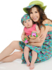 Nancy Ajram photo with Mila in a recent magazine interview of September 2010