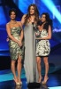 Kim Kardashian photo on January 5th 2011 with both of her sisters Khloe and Kourtney Kardashian at the Peoples Choice Awards 4