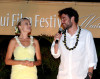 Josh Radnor arrives with Malin Akerman at the screening of Happythankyourmoreplease during the 2010 Maui Film Festival  on June 19th 2010 at the Celestial Cinema in Hawaii 2