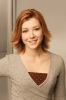 Alyson Hannigan photoshoot for  HOW I MET YOUR MOTHER TV comedy show short hair cut