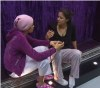 star academy season8 second day picture of Uomaima trying to advise lian for her problems with mohammad alqaq