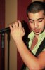 Mohd Rafe3 from Jordan picture while singing before star academy 2