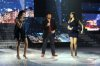 the 2nd prime of star academy season8 on April 8th 2011 picture of Gilbert with Christine and Yasmine singing together