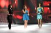 the 2nd prime of star academy season8 on April 8th 2011 picture of Sara with Karima and Uomaima