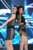 the 2nd prime of star academy season8 on April 8th 2011 picture of Haifa Wehbe and Nina AbdulMalek
