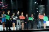 the 2nd prime of star academy season8 on April 8th 2011 photo of the students on stage