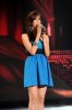 the 2nd prime of star academy season8 on April 8th 2011 photo of Karima Gouit singing on stage