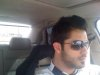 photo of Houssam Taha from Syria before star academy as he drives his car