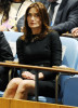 Carla Bruni at the UN headquarters for the 64th session of the United Nations General Assembly on September 23rd 2009 in New York City 2
