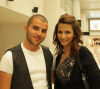 lamia jamal matar picture as she leaves from Beirut airport after she was eliminated from star academy along with Mohamed Rafe brother