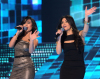 The 3rd prime of star academy on April 15th 2011 picture of of Christine Saadeh and Yasmine Hajjoul